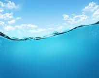 Onderwater scène Royalty-vrije Stock Foto's