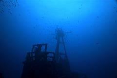 Onderwater Spoken Stock Afbeelding