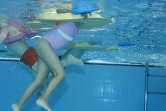 Onderwater uitoefenen Stock Afbeelding