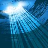 Onderwater vector royalty-vrije illustratie