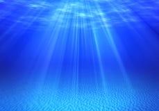 Onderwaterachtergronden Stock Fotografie