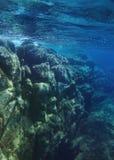 Onderwaterafname Stock Afbeelding
