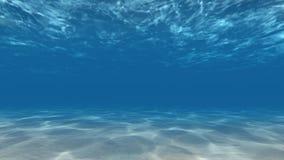 Onderwatercaustisch middelenzonnestralen 4k stock video