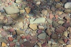 Onderwaterkiezelstenen Stock Afbeelding