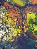Onderwaterkleur stock foto