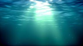 Onderwaterlijn stock illustratie