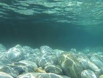 Onderwaterscène stock foto