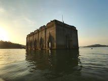 Onderwaterstad in Thailand royalty-vrije stock afbeeldingen