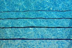 Onderwaterstappen Stock Foto