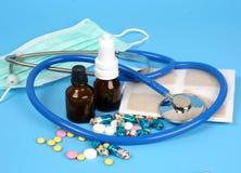 Onderwerpen voor behandeling Stock Foto