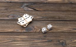 Onderwerpen voor raadsspelen royalty-vrije stock fotografie