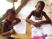Onderwijs in Afrika Royalty-vrije Stock Afbeelding