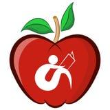 Onderwijs Apple Stock Foto's