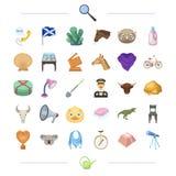 Onderwijs, dier, de dienst en ander Webpictogram in beeldverhaalstijl bibliotheek, sport, het tuinieren pictogrammen in vastgeste Royalty-vrije Stock Afbeelding