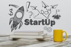 Onderwijs en startconcept Stock Foto
