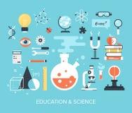 Onderwijs en wetenschap Royalty-vrije Stock Foto