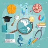 Onderwijs en Wetenschap internationaal van de opleidingsgraduatie concept Stock Foto's