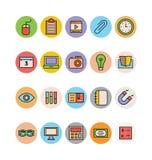 Onderwijs Gekleurde Vectorpictogrammen 14 vector illustratie