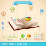 Onderwijs Infographic Royalty-vrije Stock Foto's