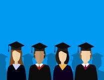 Onderwijs Infographic Vlakke vectorillustratie voor e-leert en online onderwijs Stock Afbeeldingen