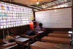 Onderwijs in Kambodja Royalty-vrije Stock Foto's