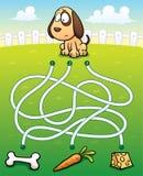 Onderwijs Maze Game Royalty-vrije Stock Afbeelding