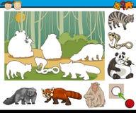 Onderwijs peutertaakbeeldverhaal vector illustratie