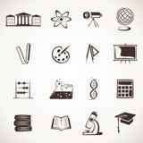 Onderwijs pictogram Stock Afbeeldingen