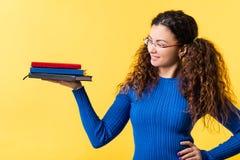 Onderwijs van de het gewichts het zelfmotivatie van de kenniswaarde royalty-vrije stock foto's
