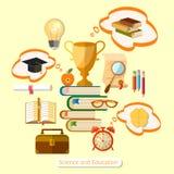 Onderwijsconcept het efficiënte onderwijs Stock Foto's