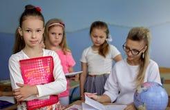 Onderwijsconcept, schoolkinderen Stock Afbeeldingen