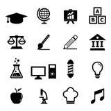 Onderwijspictogram stock illustratie