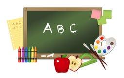 Onderwijssymbolen Stock Foto