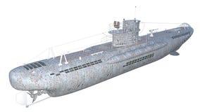 onderzeeër royalty-vrije stock afbeeldingen