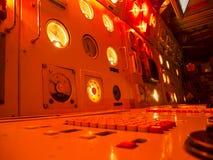 Onderzees commandorood licht Stock Foto