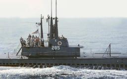 Onderzeese bemanning stock foto