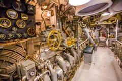 Onderzeese motorruimte stock foto