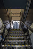 Onderzeese uitgangsladder aan buitentoren Stock Fotografie