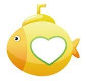 Onderzeese vissen royalty-vrije illustratie