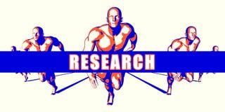 onderzoek Stock Afbeelding