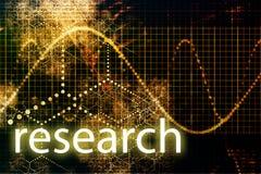 Onderzoek stock illustratie