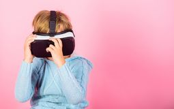 Onderzoek alternatieve werkelijkheid Cyber ruimte en virtueel gokken Virtuele werkelijkheids toekomstige technologie Ontdek virtu stock afbeelding