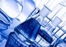 Onderzoek en experimenten Stock Foto's