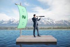 Onderzoek en rijk concept stock afbeelding