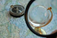 Onderzoek wereld 2 Stock Foto