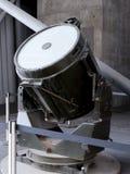 Onderzoekslicht van het Blitz van Manchester nu bij het Keizernoorden van het Oorlogsmuseum op de Salford-Kaden in Manchester Stock Afbeeldingen