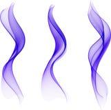 ondes abstraites de couleur Image libre de droits