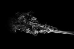 Ondes abstraites de fumée Photos libres de droits