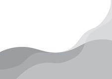 Ondes abstraites de gris illustration stock