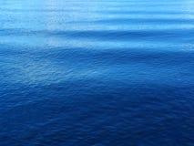 Ondes bleues Images libres de droits